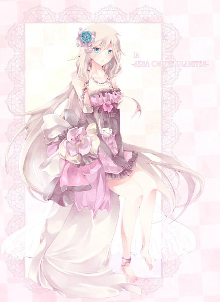 Ice blue flower girl dresses