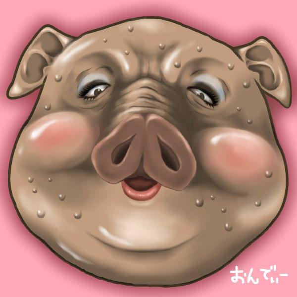 豚の画像 p1_17