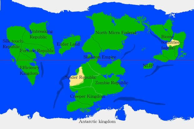 北マイクラ諸国連邦 - Minecraft軍事部Wiki跡地 - アットウィキ