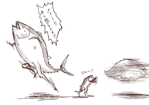 メリーちゃん逃げて / 魚類 さんのイラスト - ニコニコ静画 (イラスト)