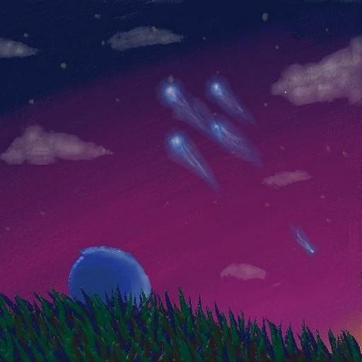 旅立ちの光 旅立ちの光 投稿者:チグサ さん 空を見上げれば、ルーラの光……が見え... 旅立ち