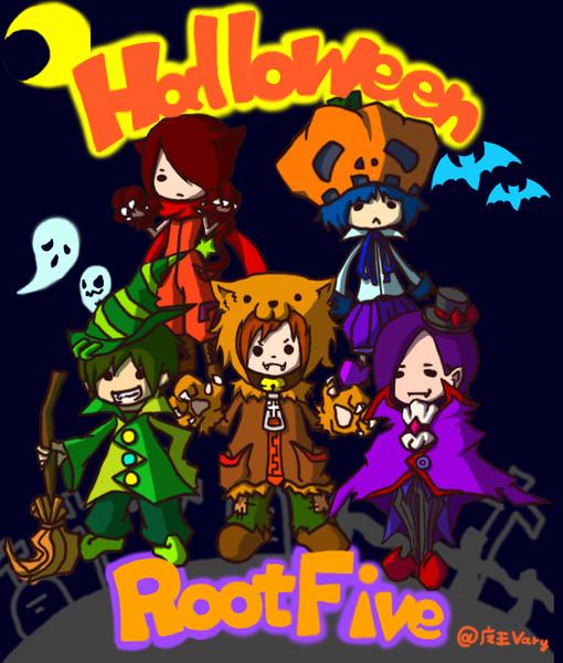 Halloween rootfive  Halloween r… 投稿者:魔王vary さん ど