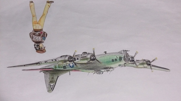B-17  空飛ぶ要塞