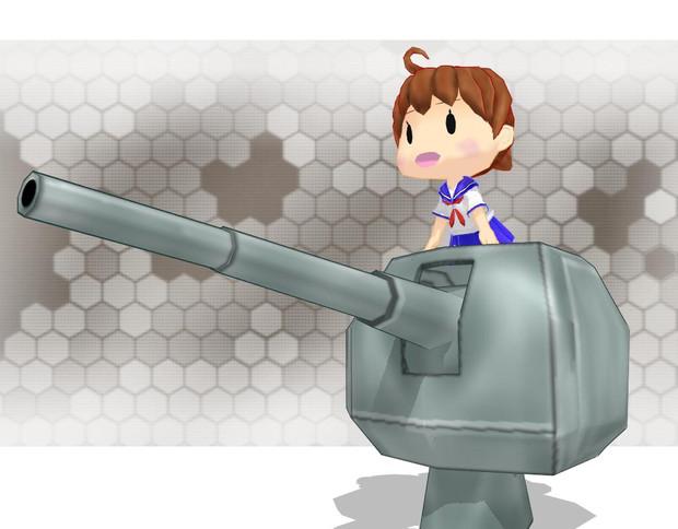 【MMD艦これ】12cm単装砲妖精ver1.0