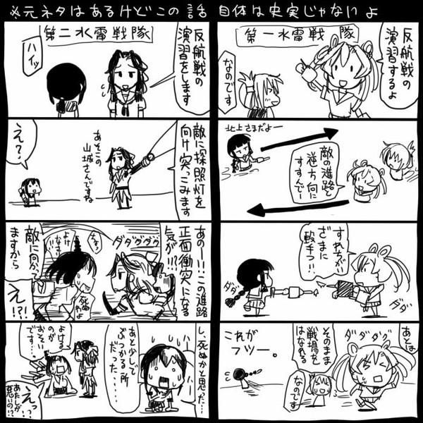【艦これ】反航戦【二水戦】