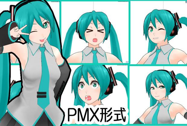 【MMDモデル】ぬぬぬぬ式初音ミクβ