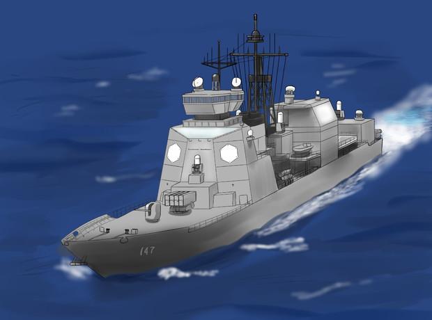 巡洋艦の画像 p1_23