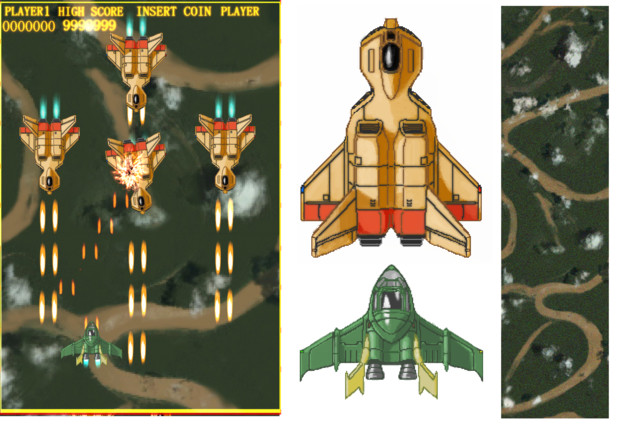 "GUNDAM Air Combat Manoeuvring"" stage5 ..."