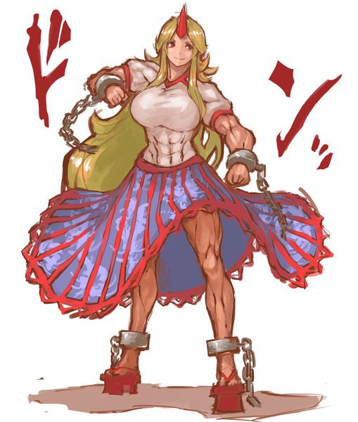 勇儀ドン 勇儀ドン 投稿者:なめ雄 さん 勇儀姐さんのクッソ強靭な身体なめまわし... 勇儀ドン