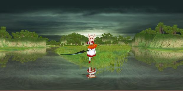 【MME】360度パノラマ画像を作る