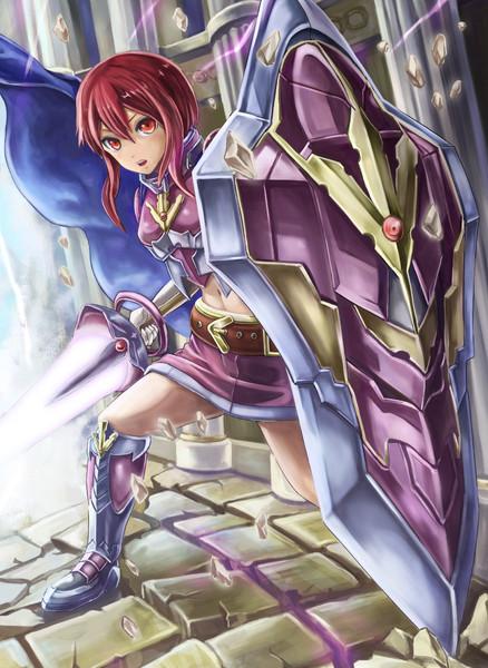 盾の女騎士 盾の女騎士 投稿者:さんし さん ちょっとミスがあったので再投稿です。... 盾の女