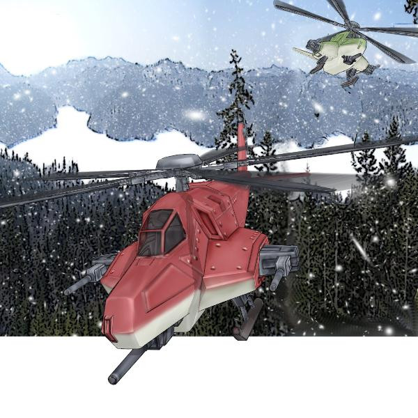 【OMF4】試作空中戦車VKL5.03(P)ver1.0
