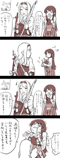 赤城と翔鶴