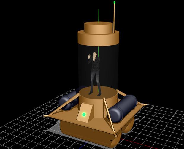 【OMF4】人質カプセル【モデル配布】