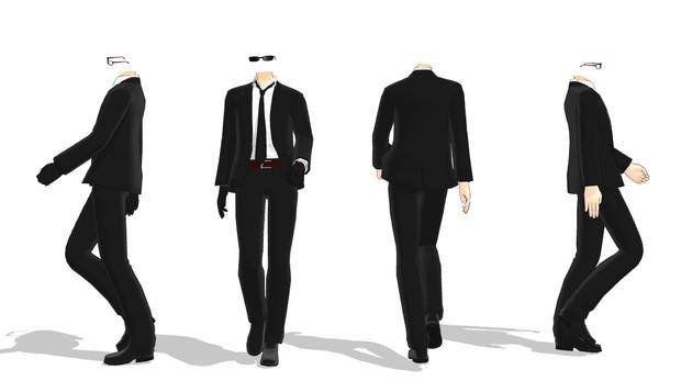 Male Dress Shoes Model