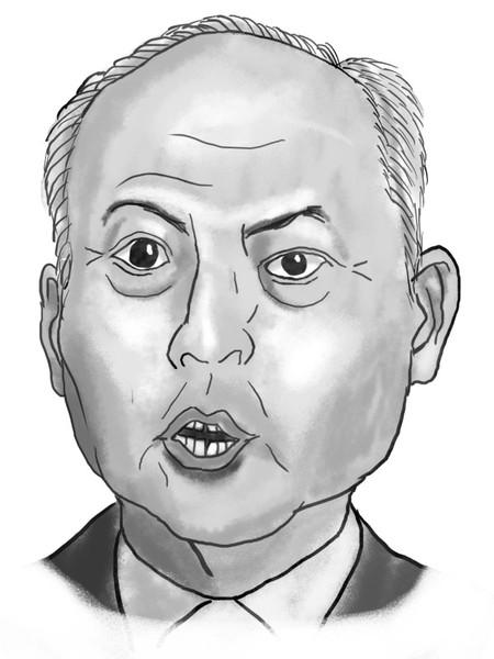 舛添都知事 舛添都知事 / ごぼうのつるぎ さんのイラスト - ニコニコ静画 (イラスト)