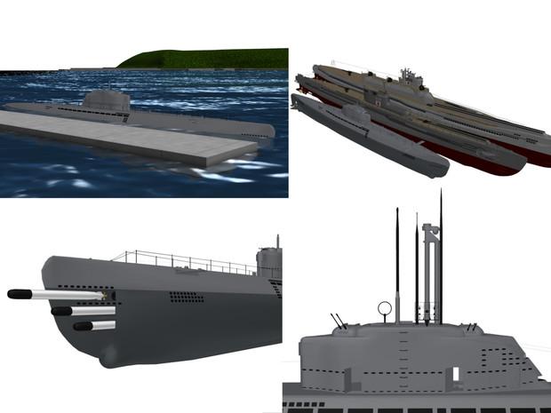UボートXXI型の画像 p1_13