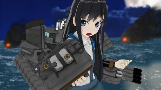 【MMDモデル配布】駆逐艦 朝潮 Ver1.0【MMD艦これ】