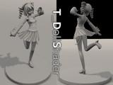 配布静画)||G_ShaderVer3.01ベース。カラー情報を捨てて塗装前の人形っぽい質感にします&br(