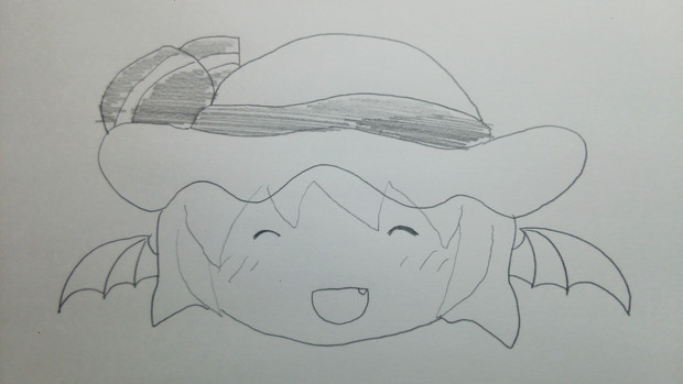 東方の原作を知らない私がキャラクターを描いてみた 2日目