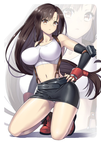 Final fantasy vii tifa no ura 3d 1