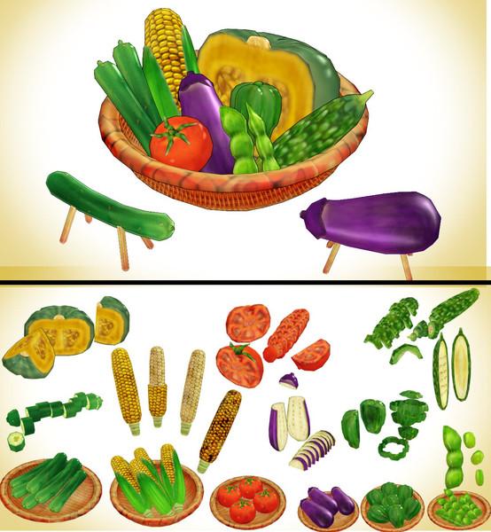 夏野菜セットver1.0