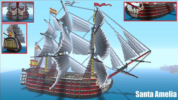 戦列艦 -Santa Amelia- M…