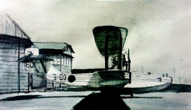 海軍一五式飛行艇 / masa-1969 ...