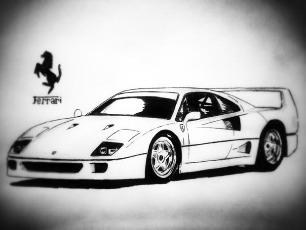 フェラーリ・F40の画像 p1_27