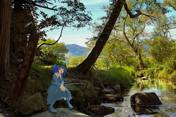 遠野河童伝説 / 結綺ユキ さんのイラスト - ニコニコ静画 ...