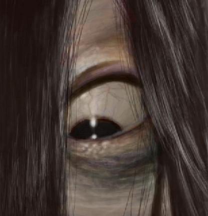 リング 貞子 模写