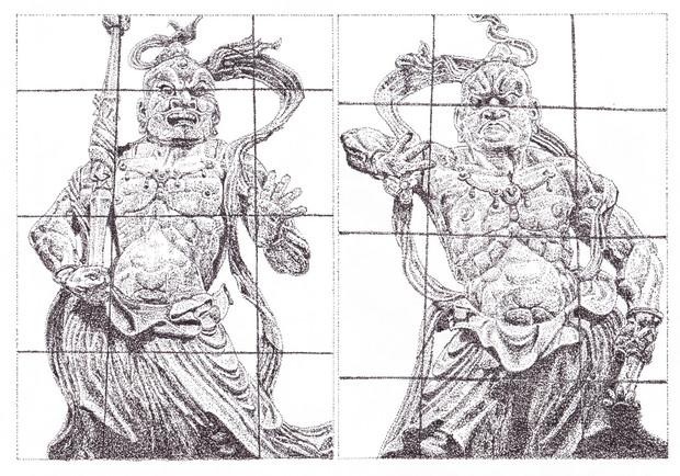 仁王像(東大寺 南大門) / $okamotoya さんのイラスト - ニコニコ静画 (イラスト)