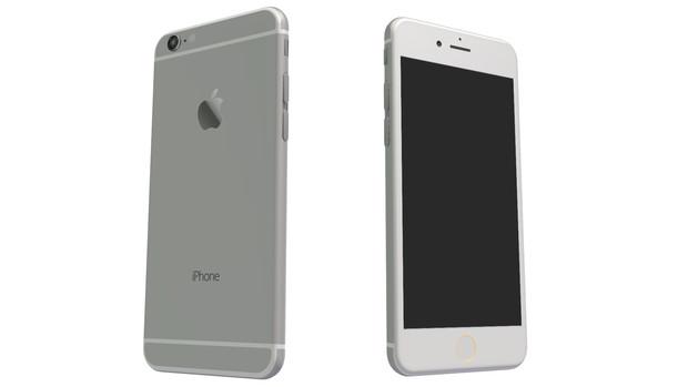 【MMD】iPhoneハイポリモデル