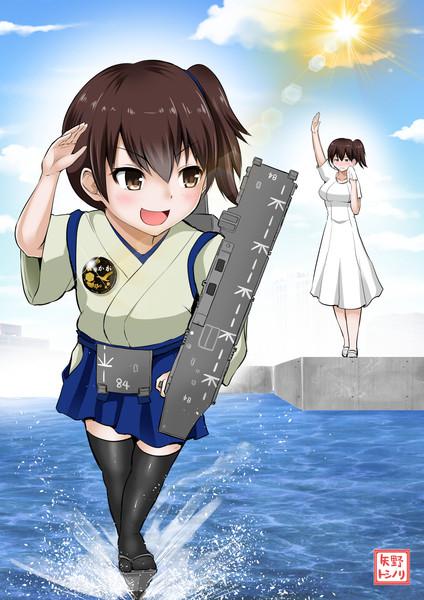 護衛艦かがちゃん就役!