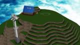 ジャパリカフェ山頂部分(けものフレンズ)モデリング3
