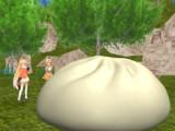 [マンガ版]キタキツネがサーバルと散歩中に巨大肉まんを発見して嬉しそうです