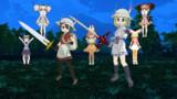 【MMD】2人のパークガイド、そして聖剣を継ぐもの