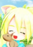 【MMD笑顔の花展覧会】謎ちゃんとリス