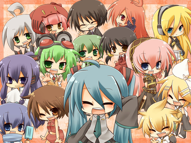 vocaloid characters wallpapers - photo #26