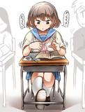 授業中にマスターハンドクレイジーハンドごっこをする女の子