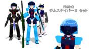 【FMS:G】ジムスナイパーⅡ【MMD改造モデル配布】