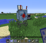 #minecraft 試作型全自動草刈りロボット #Jointblock