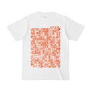 シンプルデザインTシャツ TOY☆TANKER(CHOCOLATE)