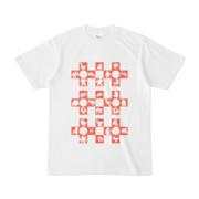 シンプルデザインTシャツ Cr/MONSTER(TOMATO)