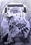 [アナログ]ゆめにっきをイメージだけで描いてみた。