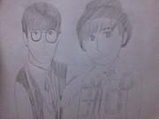 OxTの二人を描いてみました