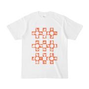 シンプルデザインTシャツ Cr/MONSTER(CHOCOLATE)