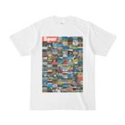 シンプルデザインTシャツ Spur=170(TOMATO)
