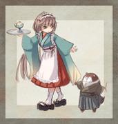 和服メイド御蔵ちゃん