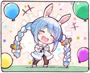 誕生日ぺこ